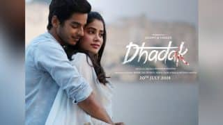 Dhadak New Poster: Ishaan Khatter, Janhvi Kapoor Look Like The Perfect Pin Up Couple