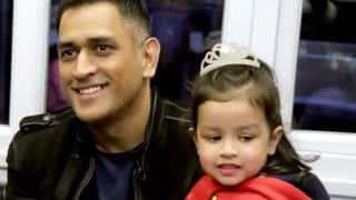 Mahendra Singh Dhoni Attends Daughter Ziva's First Annual School Function, Video Shows her Dressed as a Princess