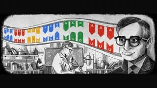 Har Gobind Khorana: Google Doodle Honours Nobel Prize Winner on his 96th Birthday