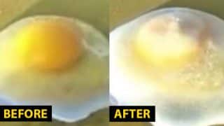 Raw Eggs and Instant Noodles Freeze in China's Coldest Town, Video Goes Viral