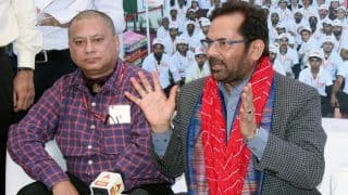Mukhtar Abbas Naqvi Lashes Out at Media, Asks 'I Have Studied in Madrasa, Am I a Terrorist?'