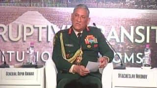 Raisina 2018: Checks, Curbs on Internet & Social Media Necessary to Deal With Terrorists, Says Indian Army Chief General Bipin Rawat