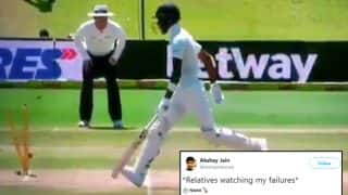 India vs South Africa Centurion Test: Hardik Pandya's Bizarre Run Out Video is Made Into a Meme by Twitterati