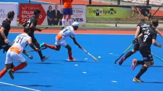 India Beat New Zealand 3-2 in Second-Leg of Four Nations Hockey Tournament
