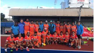 राहुल द्रविड़ ने किया हैरान, अचानक पहुंचे भारतीय हॉकी टीम से मिलने