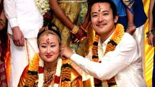 Japanese Couple Gets Married As Per Tamil Customs in Madurai For The Love of Its Culture And Tradition (Video)