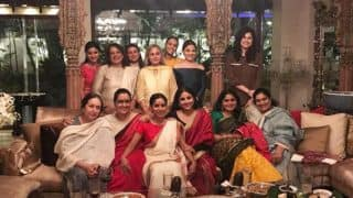 Jaya Bachchan Celebrates Women Power; Parties With Female Winners Of Filmfare Awards