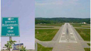 जेवर हवाईअड्डे पर केंद्र हुआ सक्रिय, अधिकारियों ने किया मुआयना