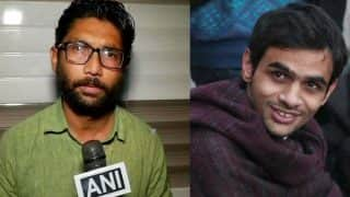 Mumbai Police Cancels Programme to be Attended by Jignesh Mevani, Umar Khalid, Seals Auditorium; Students Protest