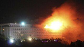 काबुल होटल अटैक में 6 लोगों की मौत, चारों हमलावर भी मारे गए
