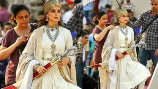 Kangana Ranaut Continues To Shoot For Manikarnika : The Queen Of Jhansi Amidst Harsh Weather Conditions In Bikaner