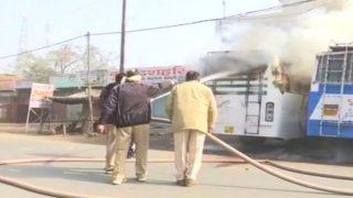 Buses, Shops Set on Fire as Violence Erupts Again in Uttar Pradesh's Kasganj District
