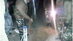 कश्मीर रेलवे स्टेशन के पास आइईडी विस्फोटक बरामद