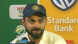 भारत बनाम दक्षिण अफ्रीका: मैच रुकने से नाराज हुए कप्तान कोहली, रेफरी के कमरे में जाकर जताया विरोध
