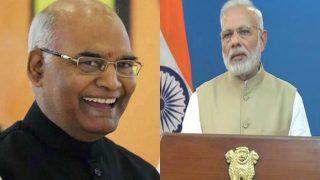 राष्ट्रपति कोविंद और पीएम मोदी ने देशवासियों को दी नए साल की बधाई