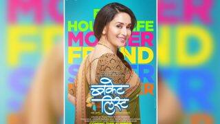 Madhuri Dixit-Nene Shares The Poster Of Her Marathi Debut Bucket List, And We Totally Loved It!