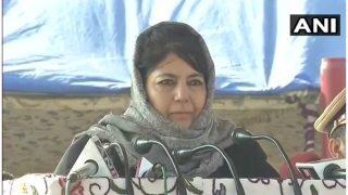 पिछले 2 साल में जम्मू-कश्मीर में 721 लोगों की मौत: महबूबा