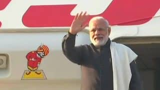 PM Narendra Modi Leaves For World Economic Forum in Davos, Leads Largest-ever Indian Delegation