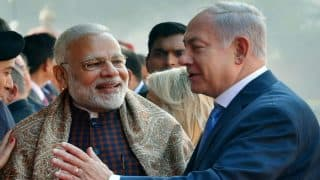 Narendra Modi, Israeli PM Benjamin Netanyahu in Gujarat Today, to Hold 14-km Roadshow From Ahmedabad Airport to Sabarmati Ashram