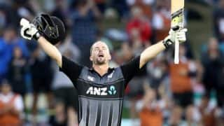 Colin Munro Becomes First Batsman to Hit Three T20I Centuries, Achieves Feat During New Zealand vs Windies 3rd T20I