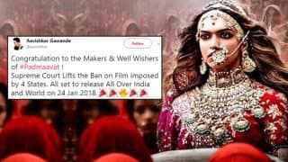 Padmaavat Row: Sanjay Leela Bhansali's Movie Ban Gets a Stay by Supreme Court, Twitterati Applauds the Judgement