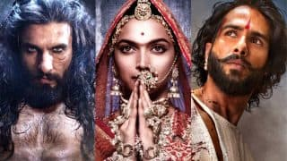 Padmaavat Row: Karni Sena Members Protest Outside The CBFC Office; Will Urge PM Narendra Modi To Ban The Film