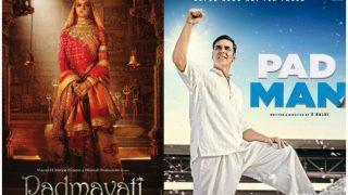 PadMan Makers Unperturbed About The Film's Clash With Sanjay Leela Bhansali's Padmavati