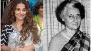 Vidya Balan To Play Former Prime Minister Indira Gandhi In Her Next