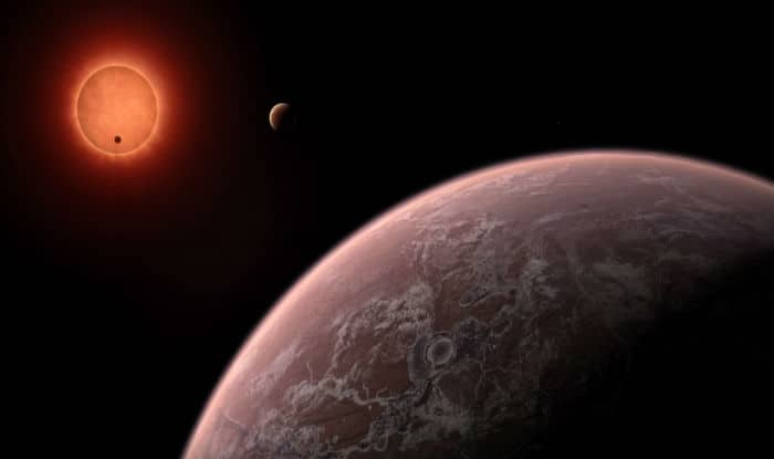 Earth-sized Planets Discovered in Planetary System