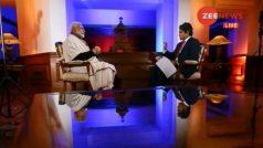 PM नरेंद्र मोदी का जी न्यूज पर इंटरव्यू, नोटबंदी से लेकर जीएसटी तक हर सवाल का जवाब