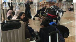 पिछले 45 महीनों से हवाई यात्रियों की संख्या में हो रही बढ़ोतरी में आई कमी