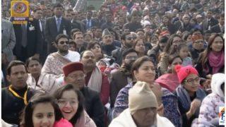 गणतंत्र दिवस समारोह में राहुल को चौथी लाइन में बिठाया, पीएम पर भड़की कांग्रेस