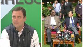 4 जजों के आरोप बेहद गंभीर, जस्टिस लोया की मौत की हो जांच: राहुल