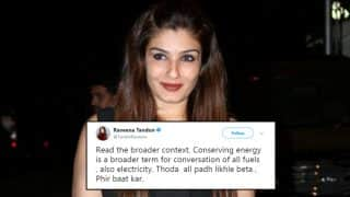 Raveena Tandon Trolled on Twitter For Posting Picture Of Smog In Mumbai; Actor Hits Back With Strong Response