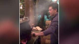 Sachin Tendulkar Turns Chef And Cooks BBQ Chicken For His Friends in This Viral Video