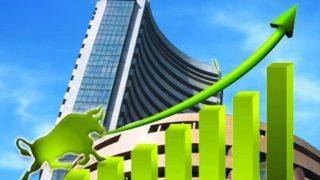 शेयर बाजार में तीन दिन से जारी गिरावट थमी, सेंसेक्स 141 अंक सुधरा