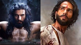 Did Shahid Kapoor's Latest Tweet Just Reveal That All Is Well Between Him And Padmaavat Co-Star Ranveer Singh?