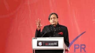 Modi Like Scorpion on Shivling, Can't Remove or Hit With Chappal: Tharoor Quotes RSS Source to Mock PM