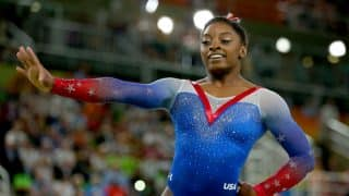 US Gymnast Simone Biles Claims Record 13th World Gold Medal