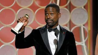 Sterling K Brown Wins Best Lead Actor For This Is Us; Creates Golden Globe History
