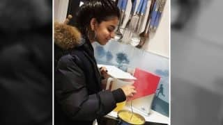 Shah Rukh Khan's Little Girl Suhana Khan Is All Smiles As She Tries Her Hand At Cooking