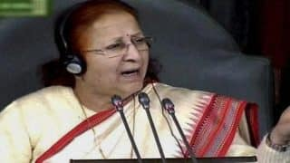 Speaker Sumitra Mahajan Angry Over Ruckus in Lok Sabha, Says School Children Better Than Parliamentarians