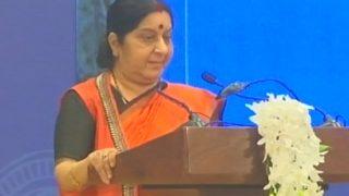 Swaraj Swaraj Dodges Questions on Sexual Harassment Allegations Against MJ Akbar