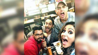 Bigg Boss 11 Runner Up Hina Khan Catches Up With Priyank Sharma And Vikas Gupta - Watch Video