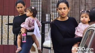 Shahid Kapoor's Princess Misha Looks Pretty In Pink As She Steps Out With Mira Rajput - See Pics