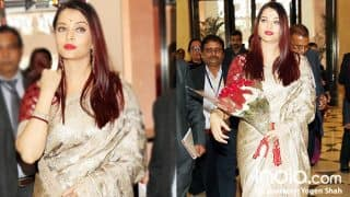 Aishwarya Rai Bachchan Looks Jaw-Dropping Gorgeous In Her Traditional Avatar (PICS)