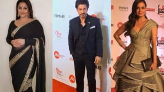 Filmfare Awards 2018 Red Carpet: SRK, Akshay, Sonam, Ranveer, Shahid, Alia, Ranbir And More