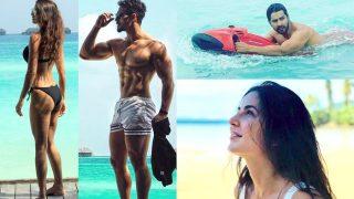 Disha Patani, Tiger Shroff, Katrina Kaif, Varun Dhawan Show Off Their Sexy Side As They Enter 2018 - View Pics