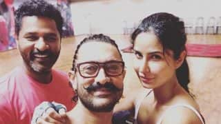 Aamir Khan, Katrina Kaif, and Prabhudeva Rehearse For Thugs Of Hindostan Dance Number