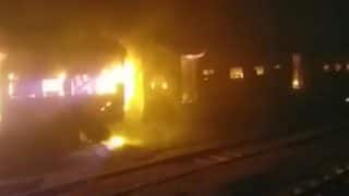 Fire Breaks Out in Jammu Rajdhani Express, no Injuries Reported